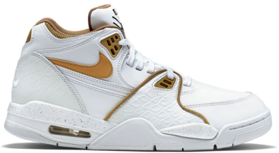 Nike Air Flight 89 White Fly Gold 306252-115