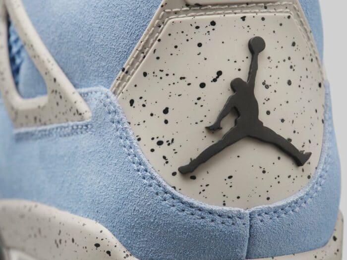 jordan Nike Air 4 unc