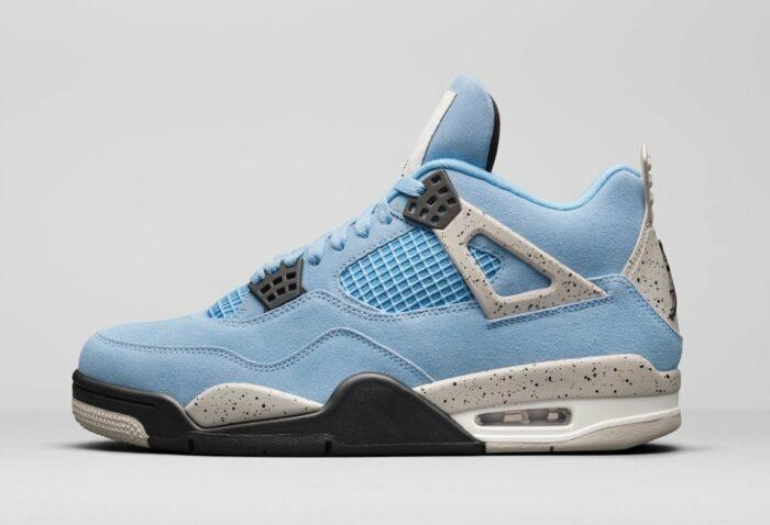 Nike Air Jordan 4 university blue