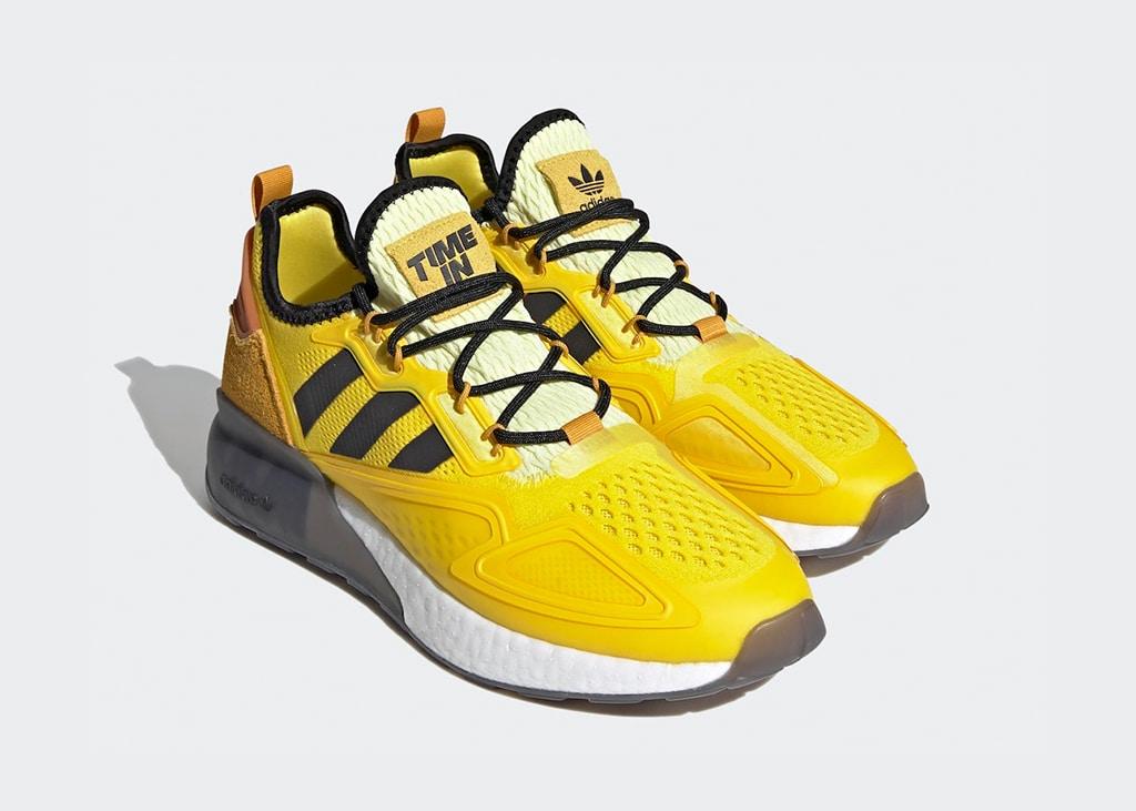 Nu beschikbaar bij de Sneakerbaron: de adidas ZX 2K Boost x Ninja 'Yellow'