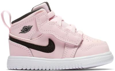 Jordan 1 Mid Alt Pink Black (TD) AT4613-601