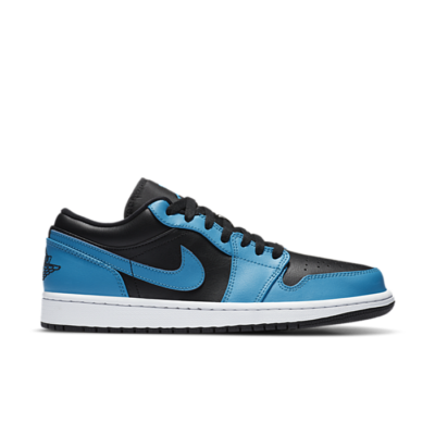 Jordan 1 Low Laser Blue Black 553558-410