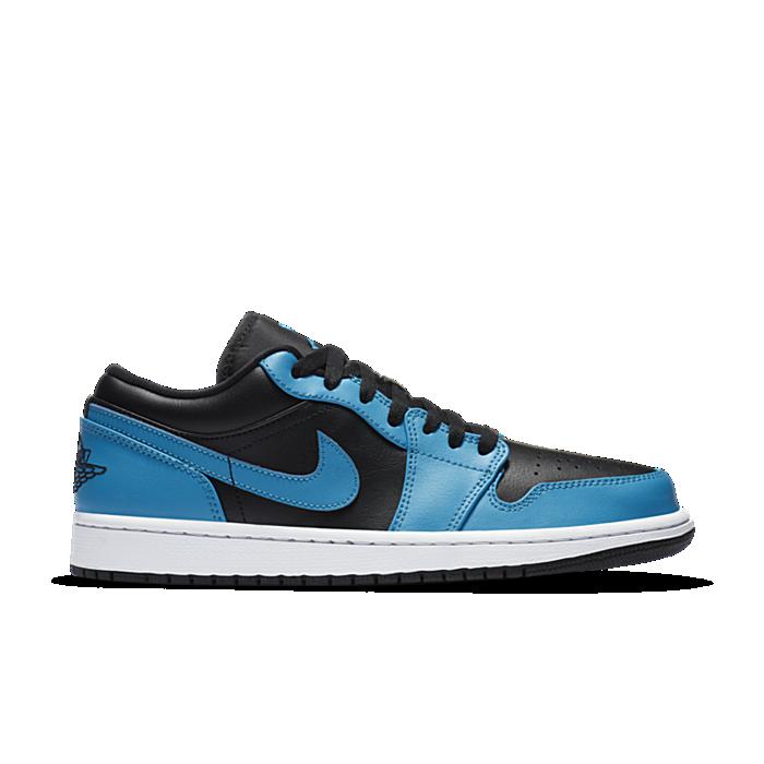Jordan 1 Low Laser Blue Black 553558-410