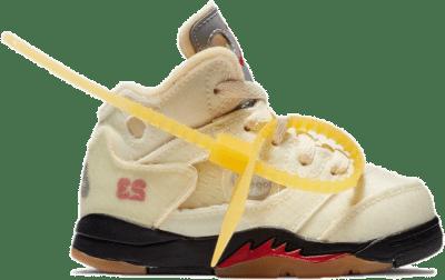 Jordan 5 Retro OFF-WHITE Sail (TD) CV4828-100