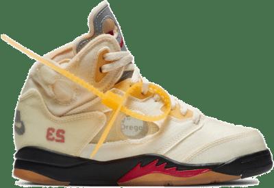 Jordan 5 Retro OFF-WHITE Sail (PS) CV4827-100
