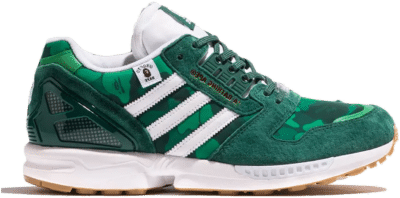 adidas ZX 8000 Bape Undefeated Green FY8851