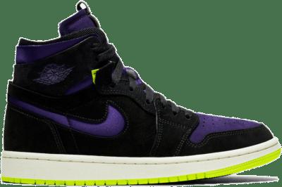 Jordan 1 High Zoom Air CMFT Black Court Purple Lemon Venom (W) CT0979-001