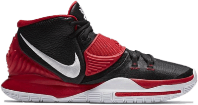 Nike Kyrie 6 Team Black University Red CK5869-004
