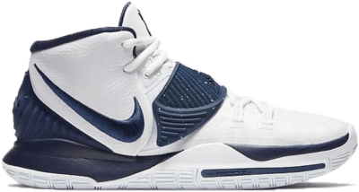 Nike Kyrie 6 Team White Midnight Navy CK5869-100