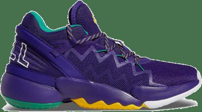 adidas DON Issue 2 Purple Gold FV8959