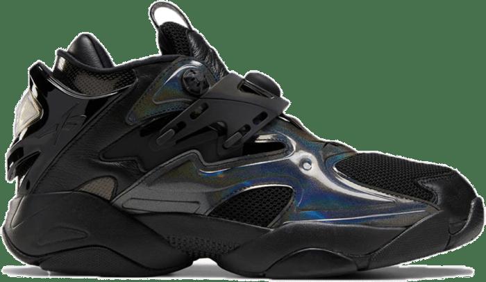 Reebok Juun.J Pump Court Schoenen Black / Cold Grey 7 / Black FZ3890