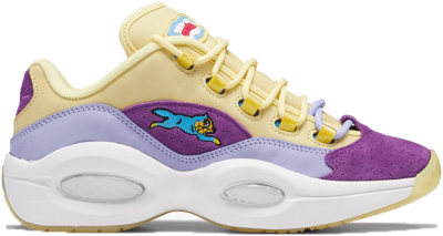 Reebok BBC Question Low Schoenen Filtered Yellow / Lilac Glow / White G55351