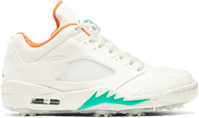 Jordan 5 Retro Low Golf Lucky and Good CW4204-100