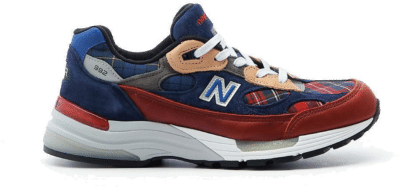 New Balance 992 Concepts Plaid M992AD