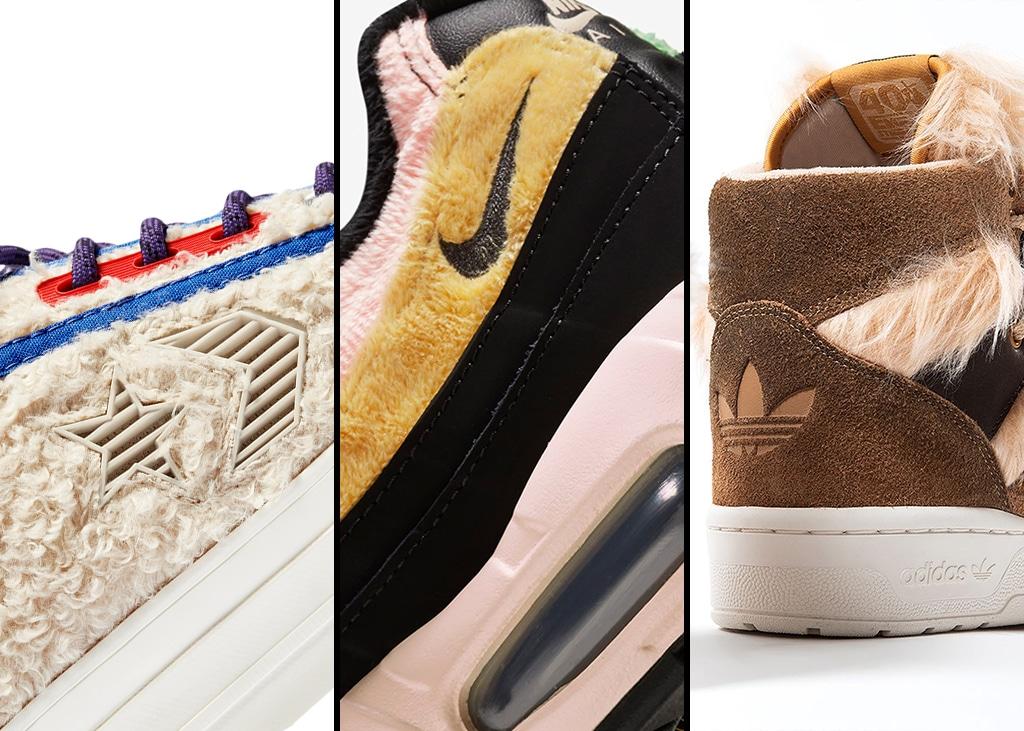 Drie van die: Sneakers met een vachtje voor de winter