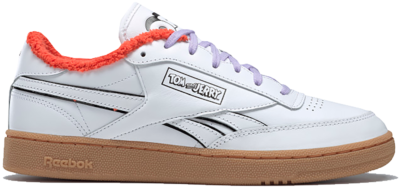 Reebok Tom and Jerry Club C Revenge Schoenen White / Reebok Rubber Gum-01 / Black H05220