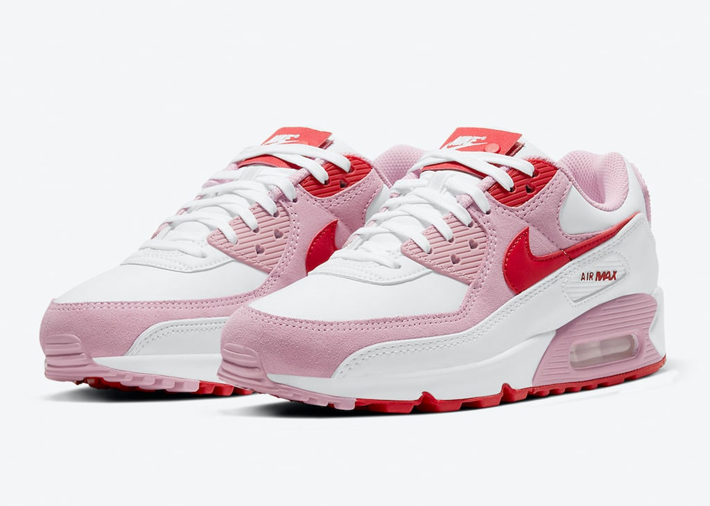 Er hangt liefde in de lucht dankzij de Nike Air Max 90 Valentine's Day