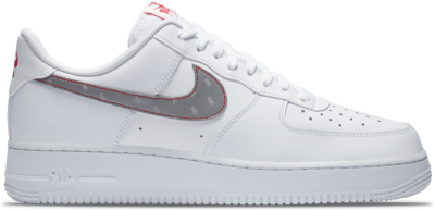 "Nike Air Force 1 07 ""Silver White"" CT2296-100"