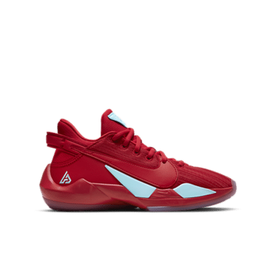 Nike Zoom Freak 2 University Red Glacier Ice (GS) CN8574-605