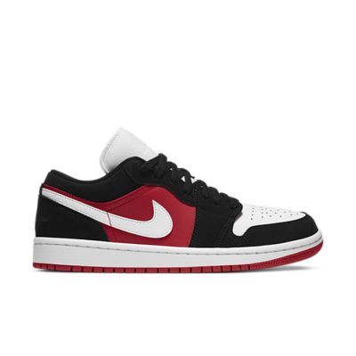 Jordan 1 Low Black White Gym Red (W) DC0774-016