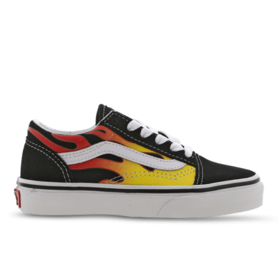 Vans Old Skool (Flame) Black VN0A5AOAXEY