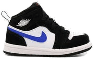 "Air Jordan 1 MID (TD) ""BLACK"" 640735-084"
