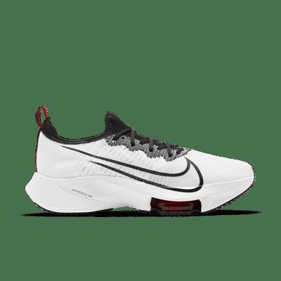Nike Air Zoom Tempo NEXT% Flyknit 'White University Red' White CI9923-102