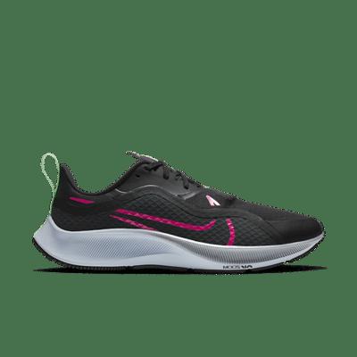 Nike Air Zoom Pegasus 37 Shield 'Black Pink Blast' Black CQ7935-003