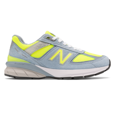 New Balance  990v5 Grey/Hi Lite W990GH5