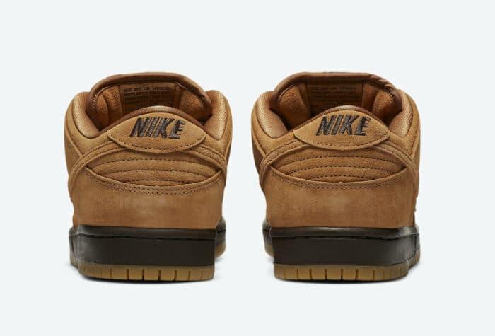 low dunk Nike SB wheat