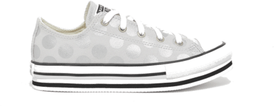 Converse Glitter Shine EVA Platform Chuck Taylor All Star Low Top Photon Dust/White/Black 670029C