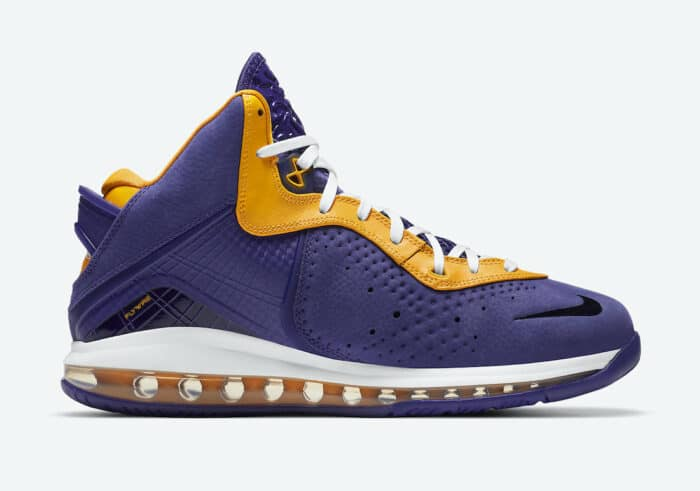 LeBron Nike 8 lakers