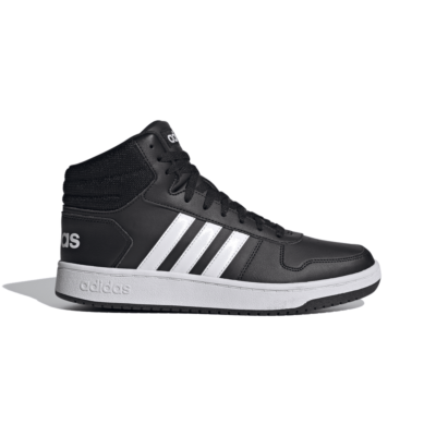 adidas Hoops 2.0 Mid Core Black FY8618