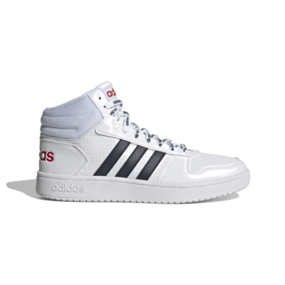 adidas Hoops 2.0 Mid Cloud White FW4478