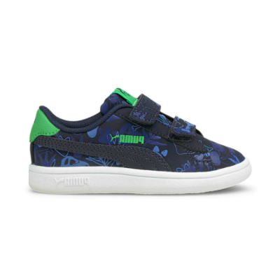 Puma Smash v2 Archeo Summer sneakers baby's Blauw 368793_01
