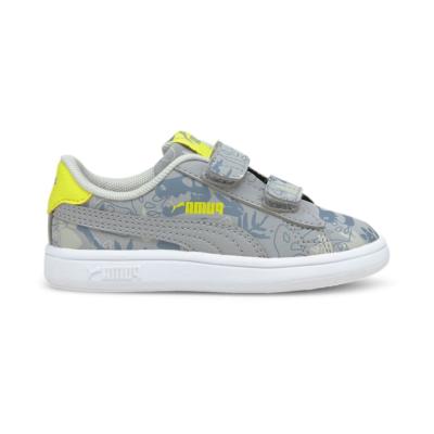 Puma Smash v2 Archeo Summer sneakers baby's Grijs 368793_02