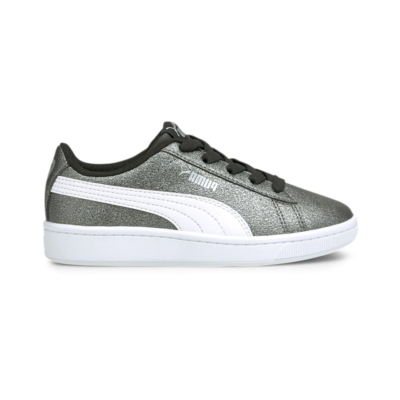 Puma Vikky v2 Glitz 2 AC sportschoenen Zwart / Wit / Zilver 373173_06