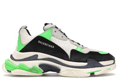 Balenciaga Triple S Green Black 536737W09O69063