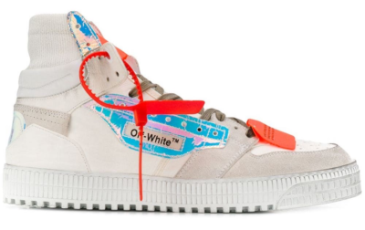 OFF-WHITE Court High Iridescent FW19 OMIA065F198000390118