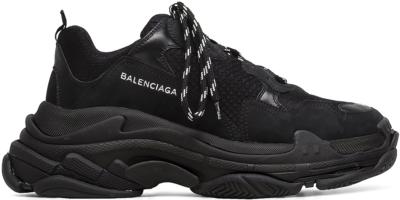 Balenciaga Triple S Triple Black (2018 Reissue) (Nondistressed) 51278 W0901 1000