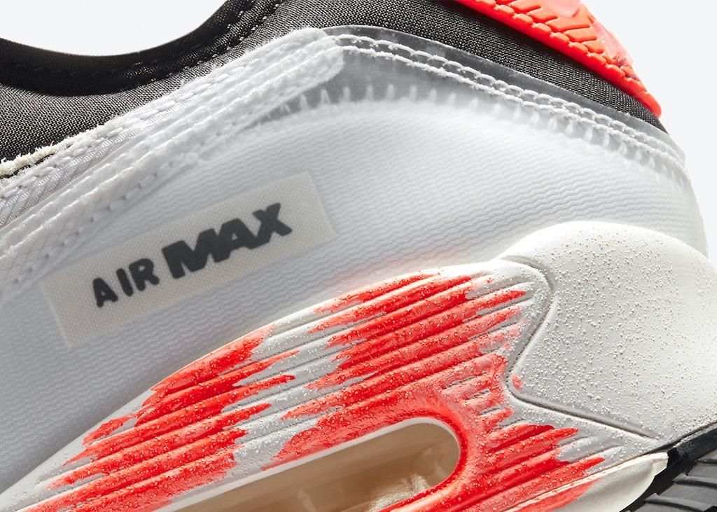 Deconstructed trend komt binnenkort naar de Nike Air Max 90