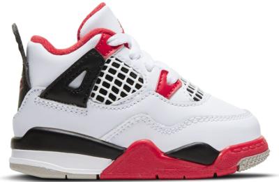 Jordan 4 Retro Fire Red 2020 (TD) BQ7670-160