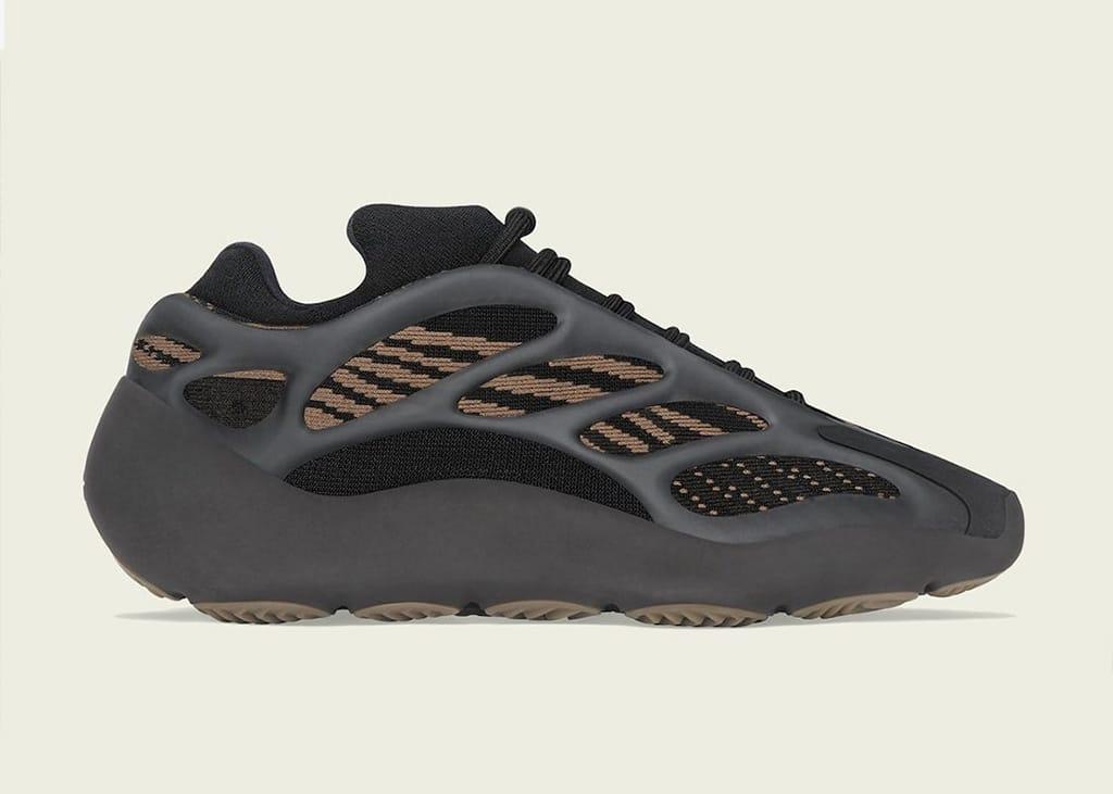 adidas brengt officiële foto's uit van adidas Yeezy 700 V3 Clay Brown