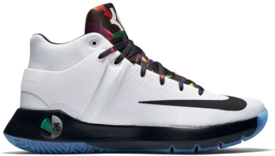 Nike KD Trey 5 IV White Black Multi-Color 844571-194
