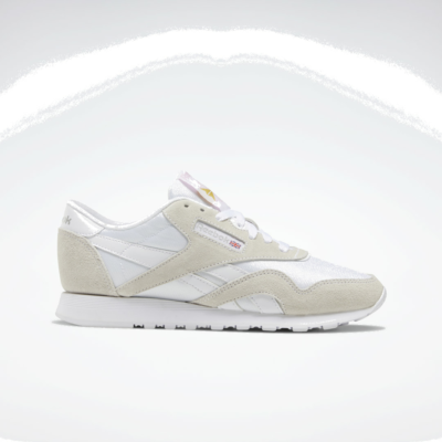 Reebok Classic Nylon White / White / Light Grey FV4507