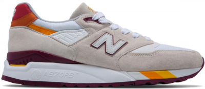 New Balance 998 Coumarin Pack White Burgundy M998CST