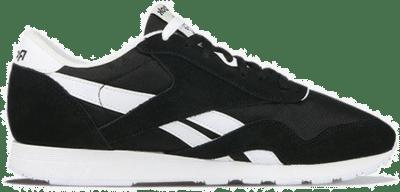 Reebok Classic Nylon Schoenen Black / Black / White FV1592