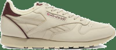 Reebok Classic Leather Schoenen Alabaster / Maroon / Vector Navy FW6692