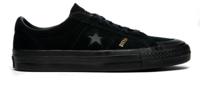 Converse Unisex One Star Pro AS Low Top Black 169615C