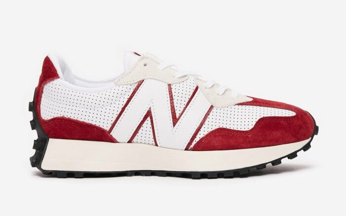 new balance 327 perforated